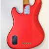 Fender Jazz deluxe Chrome Red rear