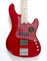 Cort GB74 JH Trans Red Bass Guitar