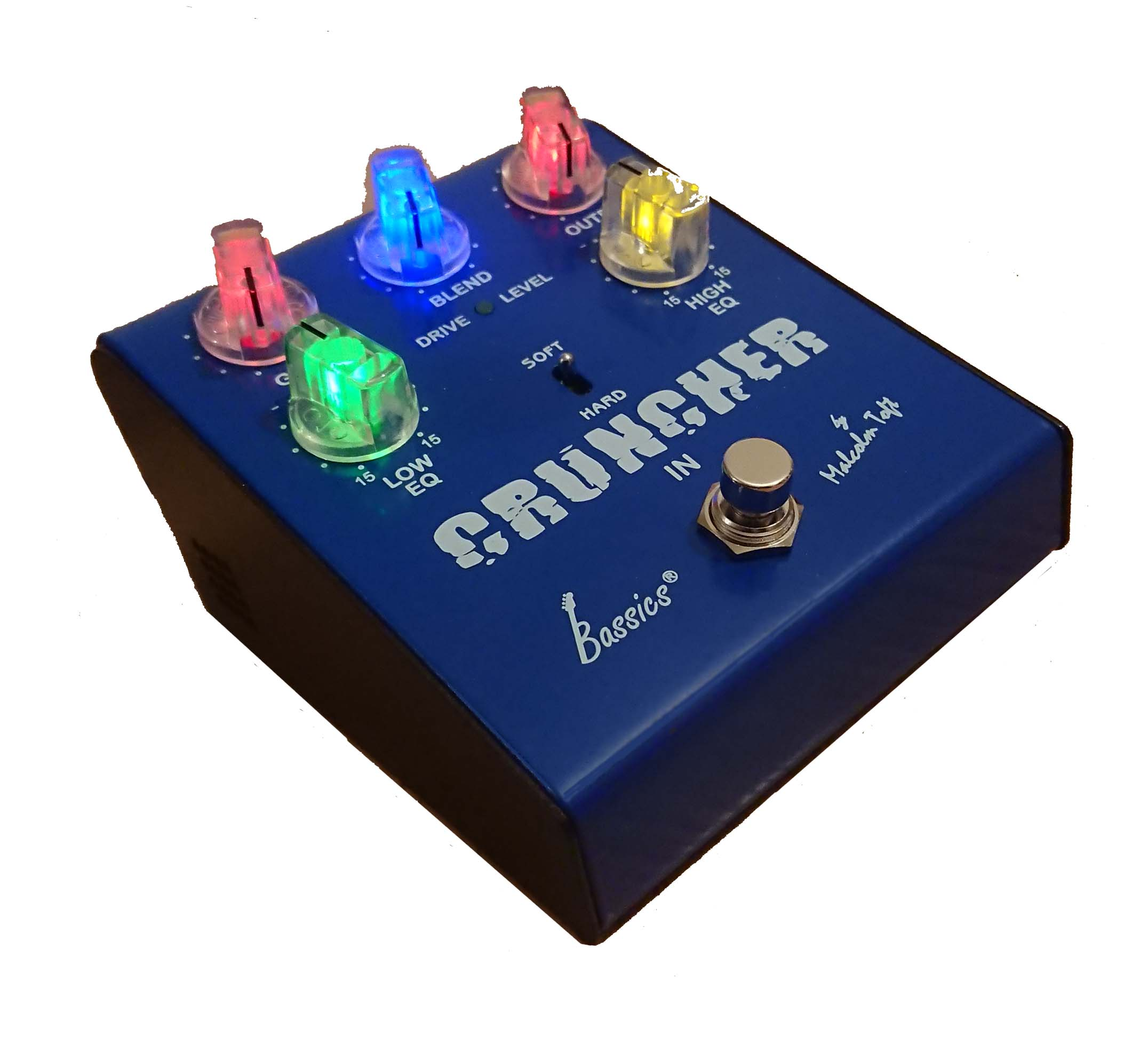 Bassics Cruncher Distortion Pedal