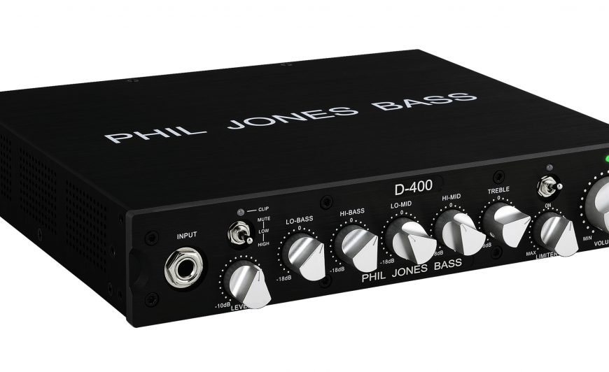 Phil Jones D400 Bass Head