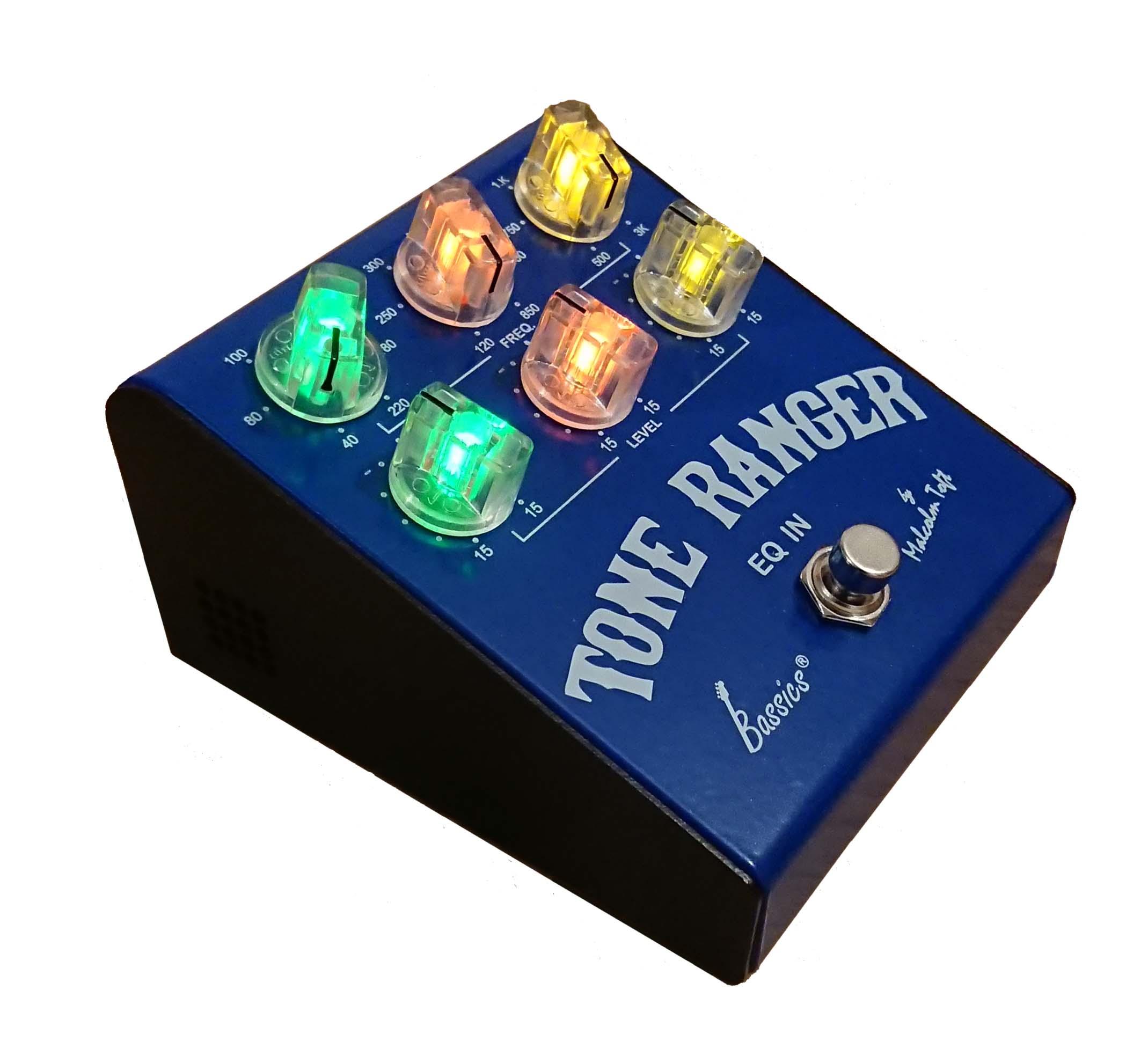 Bassics Tone Ranger Pre-Amp Pedal